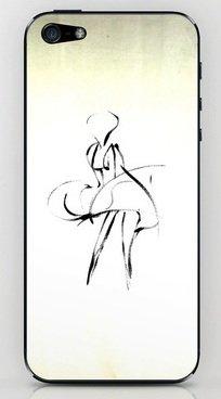 並行輸入品マリリン・モンロー society6 iphone 5/5sステッカー (Marilyn2)