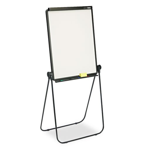 Quartet® - Total Erase Presentation Dry-Erase Easel, 26 x 34, White, Black Steel Frame - Sold As 1 Each - Communicate effectively with this portable, ultra-versatile easel.