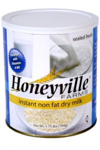 Instant Nonfat Dry Milk - 1.75 Pound Can