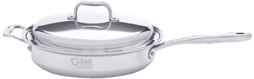 360 Cookware ID115-PC Sauté Pan, 3.5-Quart
