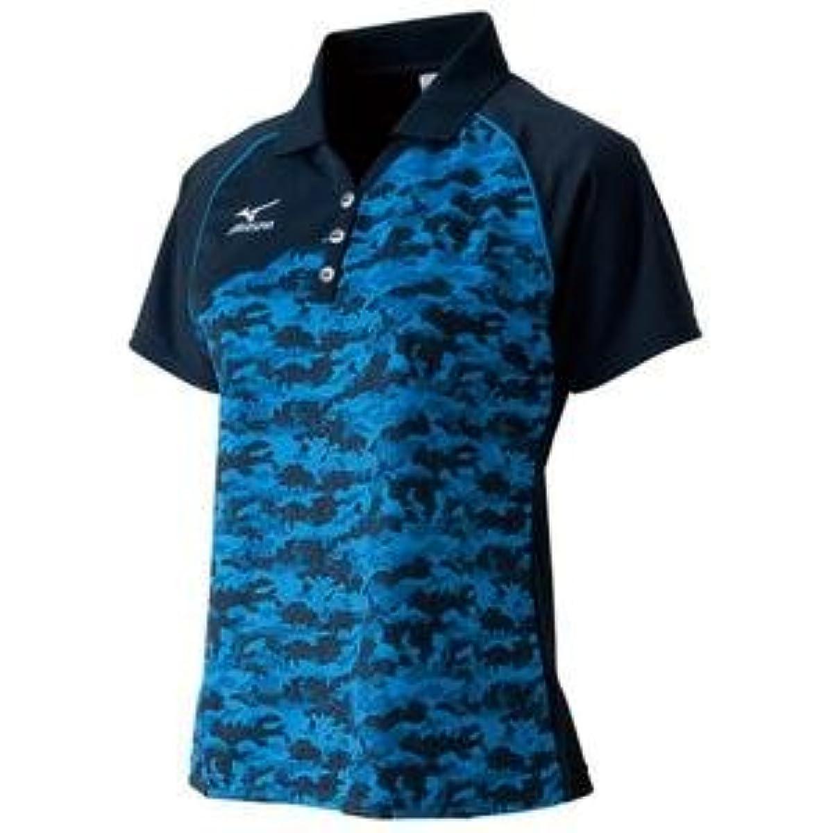 [해외] MIZUNO 게임 셔츠(탁구/레이디스) 주문 상품 사이즈:O