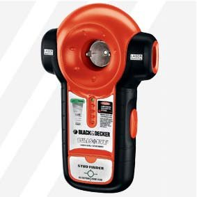 Black & Decker Tools BDL100S Bulls Eye Auto Leveling Laser Line and Stud Finder