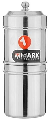 Mark Stainless Steel Filter, Steel, 120 ml, SIECOFTPF
