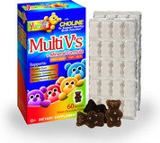 buy Yum V'S Multi-V Plus Multi-Mineral Formula Milk Chocolate - 60 Bears