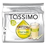 Tassimo Twinings Chai Latte Lemongrass 16 Capsules (Pack of 4)
