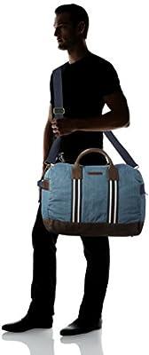 Tommy Hilfiger Men's PREPPY STORY TRAVEL DENIM Top-handle Bag