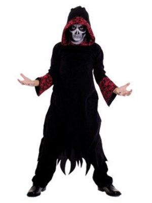 Disguise Boys Reaper Costume Grim Reaper Robe
