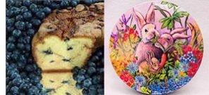 "New England Blueberry 8"" Coffee Cake (Easter Gift Tin)"