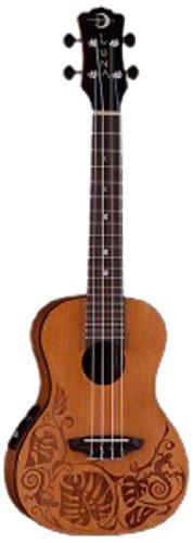 Luna Guitars Ukulele Solid Cedar Concert
