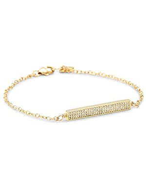 gorjana<br/> Pristine Bar Charm Bracelet