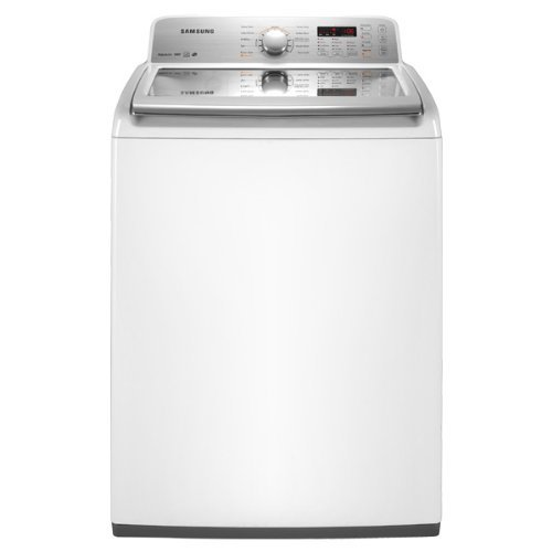 Samsung WA456DRHDWR 4.5 Cu. Ft. White Top Load Washer - Energy Star