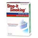 Natrabio Stop-It Smoking Anti-Craving Lozenges, 36 Homeopathic Lozenges