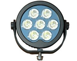 Marine Grade 70 Watt Led Spot / Flood Light - 9-48 Volts Dc - 6020 Lumen - 5.8 Amp Draw(-White-Spot)