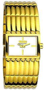 MOSCHINO CHEAP AND CHIC Mod. READ BETWEEN LINES LADY IP YELLOW GOLD / WHITE