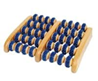 Wooden Foot Roller Massager, colors may vary by Body Back Company