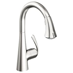 Grohe 32 298 Sd0 Ladylux3 Main Sink Dual Spray Pull Down Kitchen Faucet Realsteel Stainless
