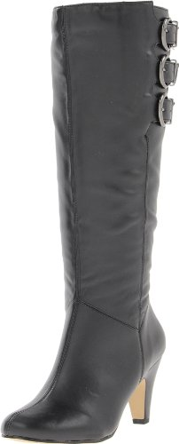 Bella Vita Women'S Transit Ii Plus Knee-High Shafted Boot,Black,9 M Us