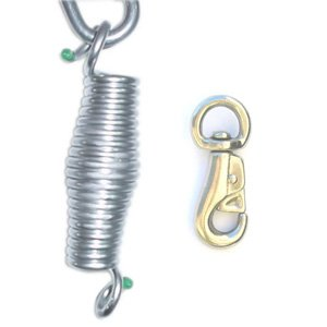 Heavy duty hanging hammock chair spring for Hanging chair spring