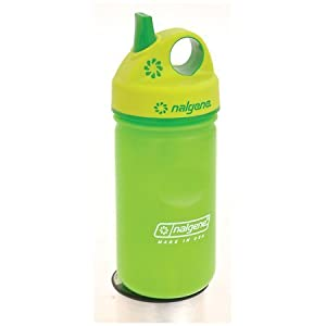 Nalgene 儿童户外运动水杯 HDPE Grip-N-Gulp Water Bottle $5.99
