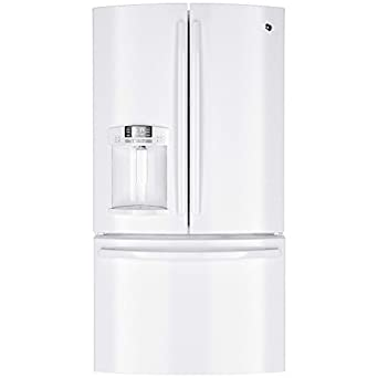 GE GFE29HGDWW 28.6 Cu. Ft. White French Door Refrigerator - Energy Star