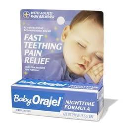 Baby Orajel Nighttime Formula Gel