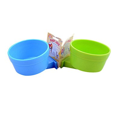 Zcl Lovely Food Bowl For Medium And Larger Sized Bird Or Parrots (Diameter:12.5Cm) , Blue
