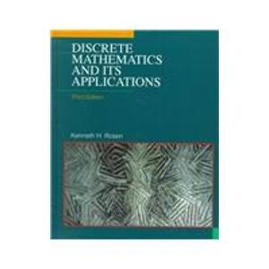 discrete mathematics book by rosen pdf