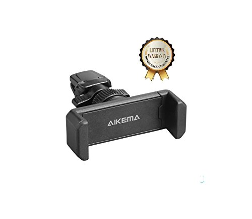 Aikema PH05 Air Vent Car Mount Holder with 360 Rotate for Smartphones - Single (Car Air Vent Clip Mount compare prices)
