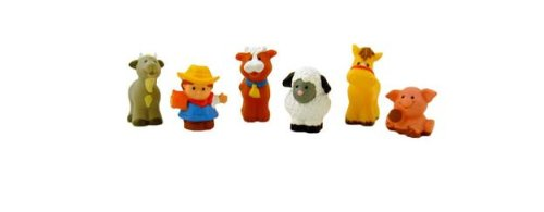 Little People Animal Sounds Farm / Zoo Figures (Set Of 6)