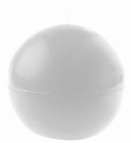 SANTEX 4307-1, Bougie ronde 7cm, Blanc