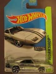 Hot Wheels 2014 234 Zamac Series '69 Dodge Charger Daytona