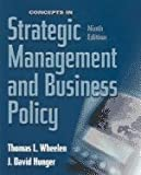 img - for Concepts in Strategic Management and Business Policy, Ninth Edition book / textbook / text book