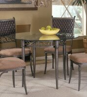 Cheap Hillsdale Tripoli Dining Table With 48″ Glass Top (B0017LXIIM)