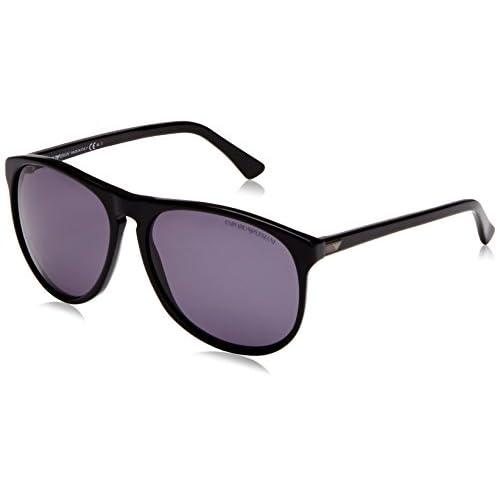 Emporio Armani Men's EA9801 Wayfarer Sunglasses