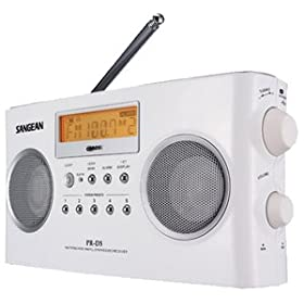 Sangean PR-D5 Digital Portable AM/FM Stereo Radio