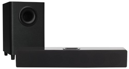 Orbitsound T10 2.1 Soundbar & Subwoofer 180W Home Cinema System with iPod iPhone Dock - Refurbished Black Friday & Cyber Monday 2014