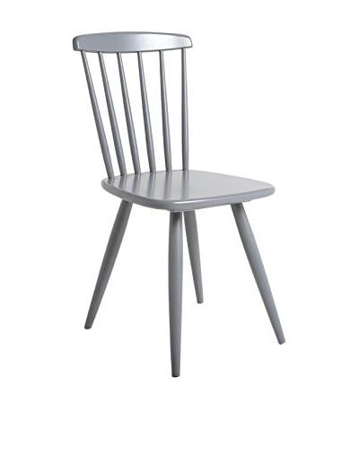 TOP AMBIENTES stoel set van 2 lichtgrijs