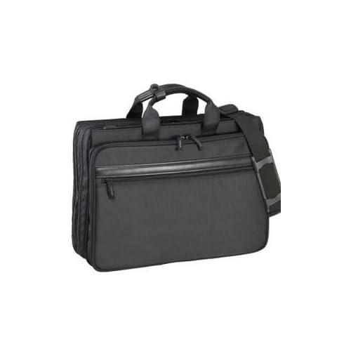 ジャーメンギア マチW ビジネスバッグ №26379 キャリーバー通し付き B4ファイル対応