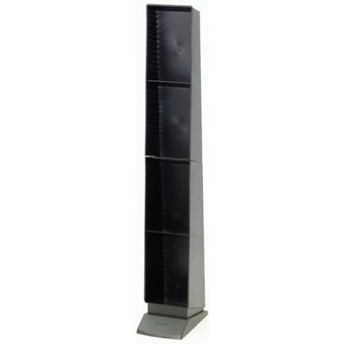 Plastic KD CD Tower (60-Capacity) (Discontinued by Manufacturer