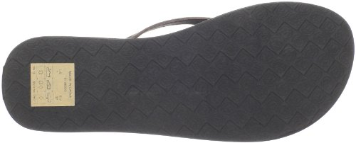 Ocean Minded by Crocs Women's Umi Thong Sandal,Chocolate,9 M US