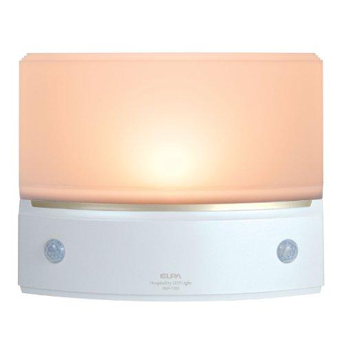 ELPA もてなしのあかり 据置型薄型 3W電球色LED HLH-1203(PW)