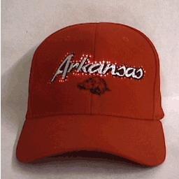 Arizona Razorbacks Fiber Optic Hat by blinkee