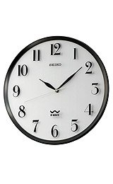 Seiko Clocks Wall Clock White Dial #QXR131SLH
