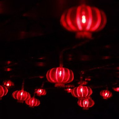 Bright-Ddl10M 80-Led Novel Festival Decoration String Fog Light Red (220V)