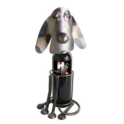 Dog-Sitting Wine Bottle Holder