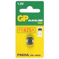 Gp 1.5v Alkaline Photo Battery Duracell Px-625a Equivalent