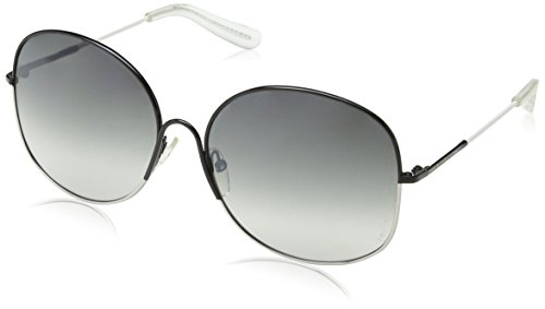 Marc Jacobs - Occhiali da sole MMJ 194/S Rettangolari, Donna, Grey White Frame/Gradient Grey