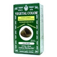 Herbatint Vegetal Hair Color, Ash Blonde, 2.1 Fluid Ounce (Vegetal Hair Dye compare prices)