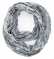 M&S Collection Lightweight Faux Snakeskin Print Snood Scarf