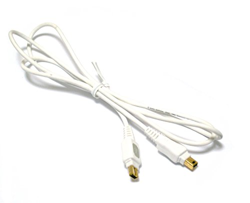 Bargains Depot Electronics® Products Brand New 5 Ft Ieee 1394 4 To 4 Pin Firewire Cable / Cord For Jvc Everio Camcorder Compatible : Gz-Mg555 Au/S // Gz-Mg555 Bu/S // Mg555U/S // Gz-Mg575 Au/S // Gz-Mg575 Bu/S // Mg575U/S // Gz-Mg630 Au/S // Gz-Mg630 Bu/S